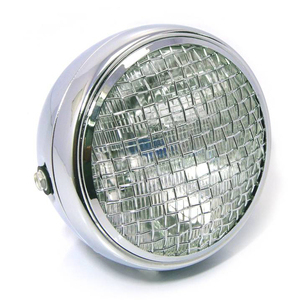 Halogen headlight 6.5'' Scrambler chrome