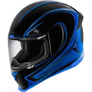Casco Icon AirFrame Pro Halo blu