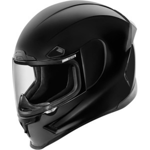 Helmet Icon AirFrame Pro black polish
