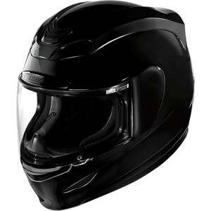 Casco Icon Airmada nero lucido