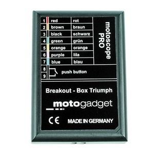 Box spie di controllo Motogadget Breakout Box per Triumph '07-