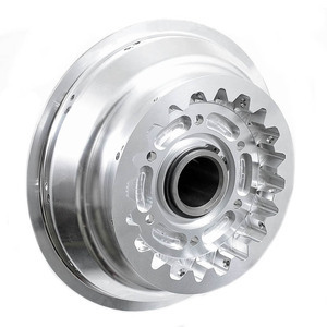 Spoke wheel hub Moto Guzzi 850 T3 rear CNC