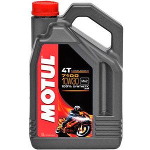 Olio motore 4T Motul 10W-30 7100 4lt
