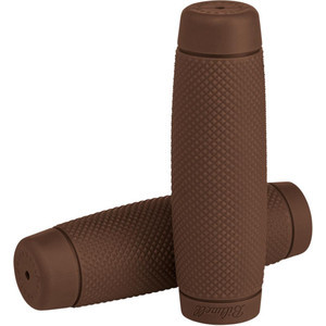 Coppia manopole BiltWell Recoil 22mm marrone