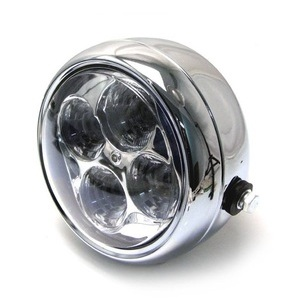 Full led headlight 5.3/4'' Street chrome