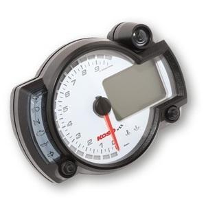 Electronic multifunction gauge Koso RX-2N 10K dial white