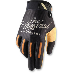 Gloves 100% Ridefit black