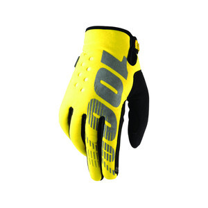 Gloves 100% Brisker yellow
