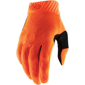 Guanti moto 100% Ridefit arancione