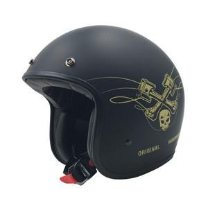 Casco moto aperto AFX Raceway Gold