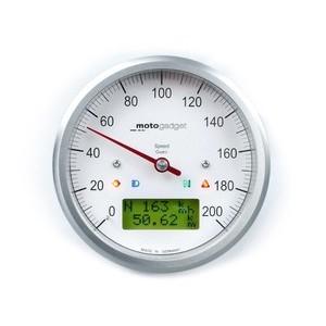 Electronic multifunction gauge Motogadget ChronoClassic Speedo 200Km/h