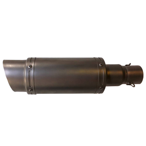 Exhaust muffler Hyper Sport stainless steel