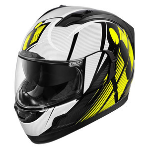Casco Icon Alliance GT Primary bianco/nero