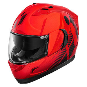 Casco Icon Alliance GT Primary rosso