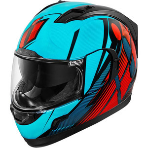 Helmet Icon Alliance GT Primary blue/red/black