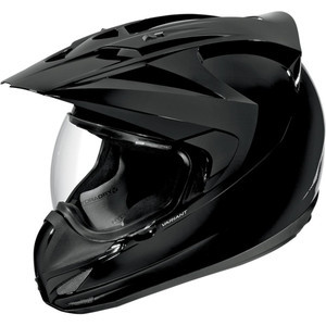Casco Icon Variant nero lucido