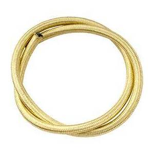 Fuel hose 6x11mm braided brass