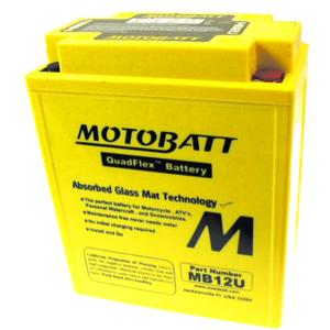 Batteria per Yamaha XJ 600 sigillata MotoBatt 12V-15Ah