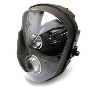 Halogen headlight Sport black