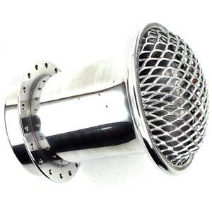 Cornetto aspirazione 48x75mm rete bombata