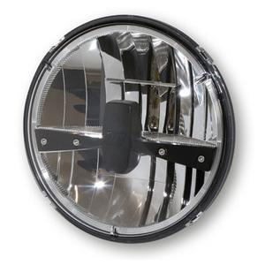 Inserto faro anteriore 7'' Highsider Reno Type3 full led cromo/nero