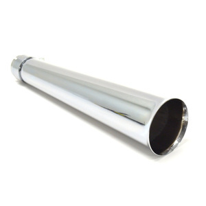 Exhaust muffler Megaphone chrome