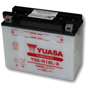 Batteria per Honda CBX 1000 Pro Link standard Yuasa 12V-20Ah