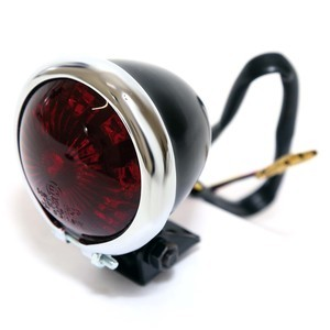 Led tail light Bates chrome/black