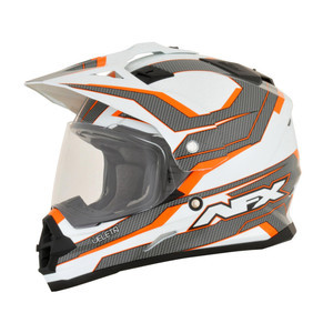 Helmet AFX Veleta orange