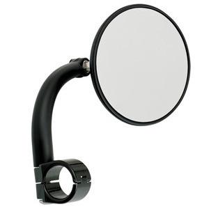 Specchietto retrovisore bar-end BiltWell 22mm nero