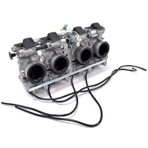 Batteria carburatori per Kawasaki Z 750 E Mikuni RS 34