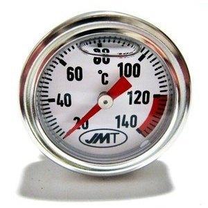 Termometro olio M20x2.5 lunghezza 15mm fondo bianco