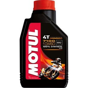 Engine oil 4T Motul 10W-60 7100 1lt