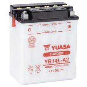Battery Suzuki GSX 750 E standard Yuasa 12V-14Ah