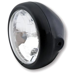 Halogen headlight 5.3/4'' Modern black