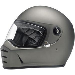 Casco moto integrale Biltwell Lane Splitter titanio