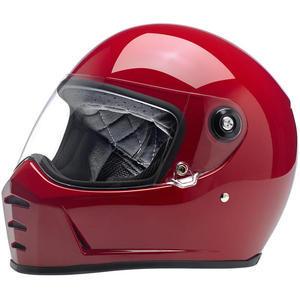 Casco moto integrale Biltwell Lane Splitter rosso