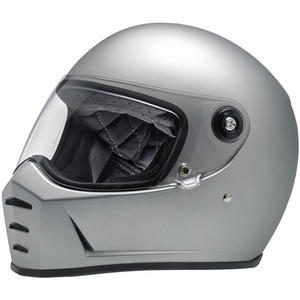 Casco moto integrale Biltwell Lane Splitter grigio chiaro
