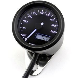Electronic speedometer Daytona48 200Km/h black
