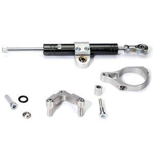 Kit ammortizzatore di sterzo per BMW R 9T LSL Titan nero completo