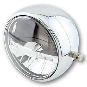 Full led headlight 5.3/4'' Highsider Jackson chrome