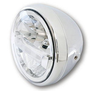 Full led headlight 7'' Highsider Reno Type 4 chrome