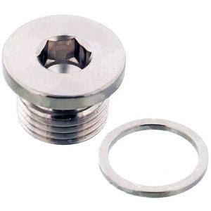 Bullone olio M16x1.5 magnetico titanio grigio