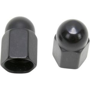 Tappo valvole pneumatici Barnett alluminio nero coppia