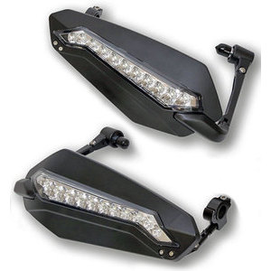 Hand guards Highsider with front position light pair