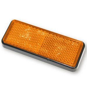 Catarifrangente posteriore 91x36mm M5 arancione