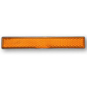 Catarifrangente posteriore 100x13mm M5 arancione