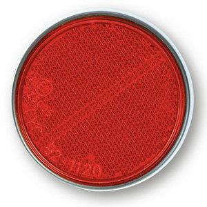 Catarifrangente laterale 60mm autoadesivo rosso