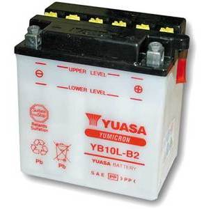 Batteria per Suzuki GSX 550 ES standard Yuasa 12V-11Ah
