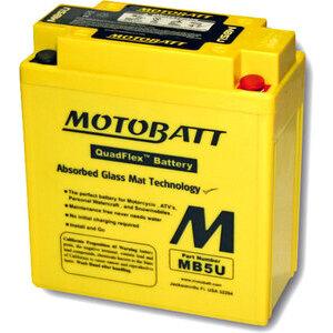 Batteria di accensione Motobatt MB5U 12V-7Ah